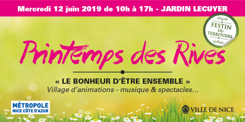 Printemps des Rives 2019