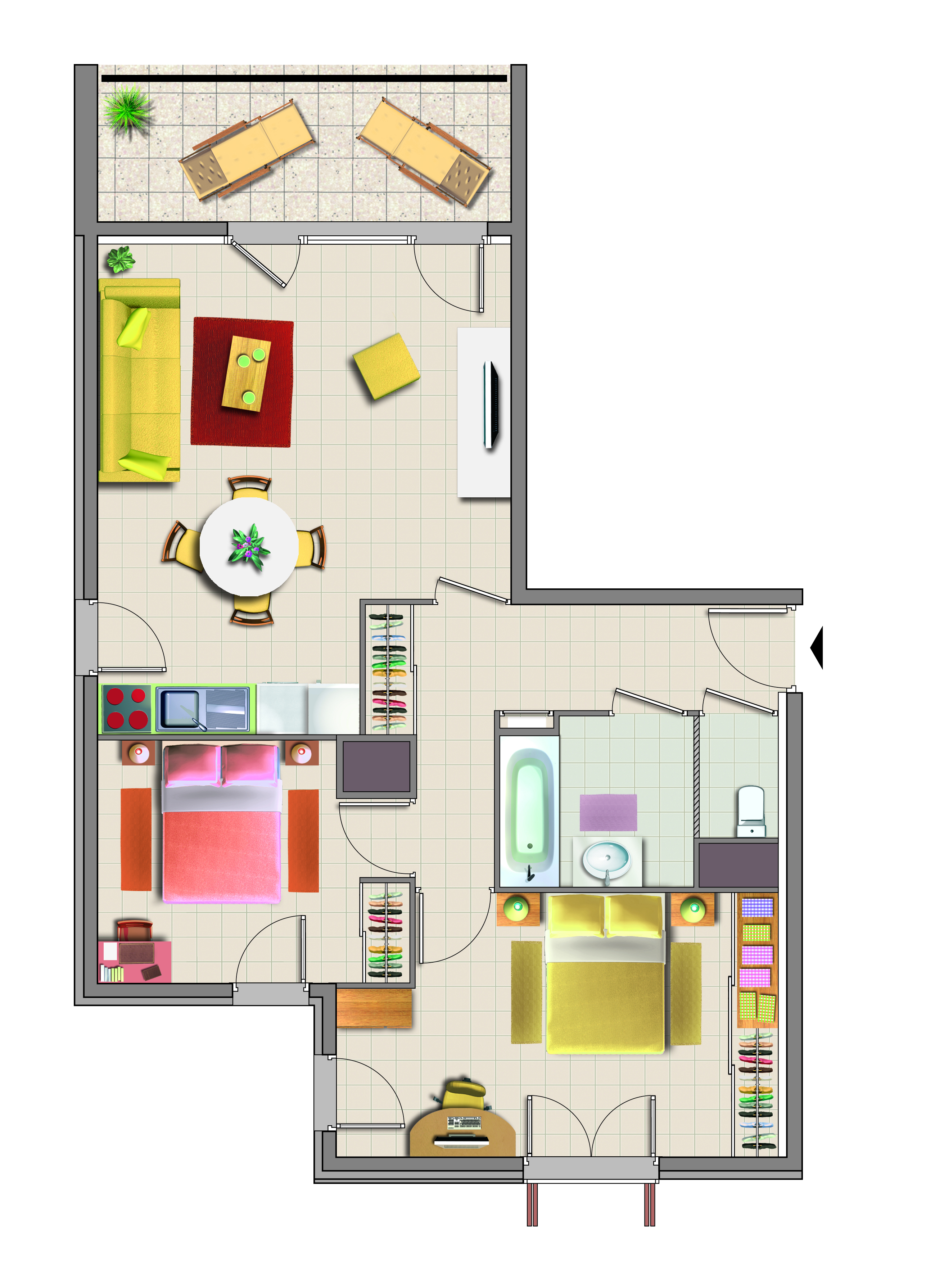 Superbe Awesome Beautiful Amazing Plan Appartement En Ligne Fantaisie Dessiner Plan  Maison Plan Appartement Ct Maison Dessiner Plan With Dessiner Plan  Appartement Inspirations De Conception